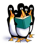 Penguins reading